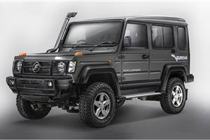 BS4 compliant 2017 Force Gurkha launched at Rs 8.45 lakh