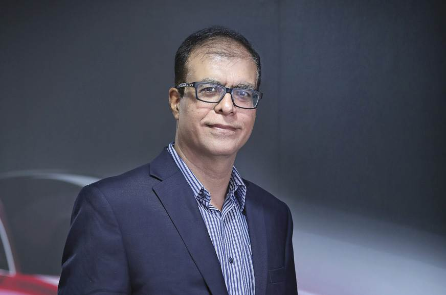 Rajeev Chaba, President and MD, MG Motor India.