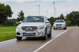 Mercedes-Benz GLC F-Cell to debut at Frankfurt motor show