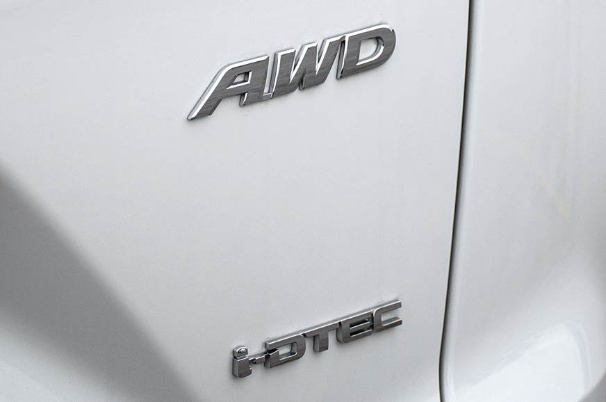 New AWD system reacts much faster to wheelslip.