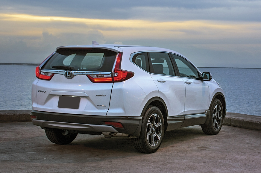 Distinctive tail-lights make the new CR-V look best from ...