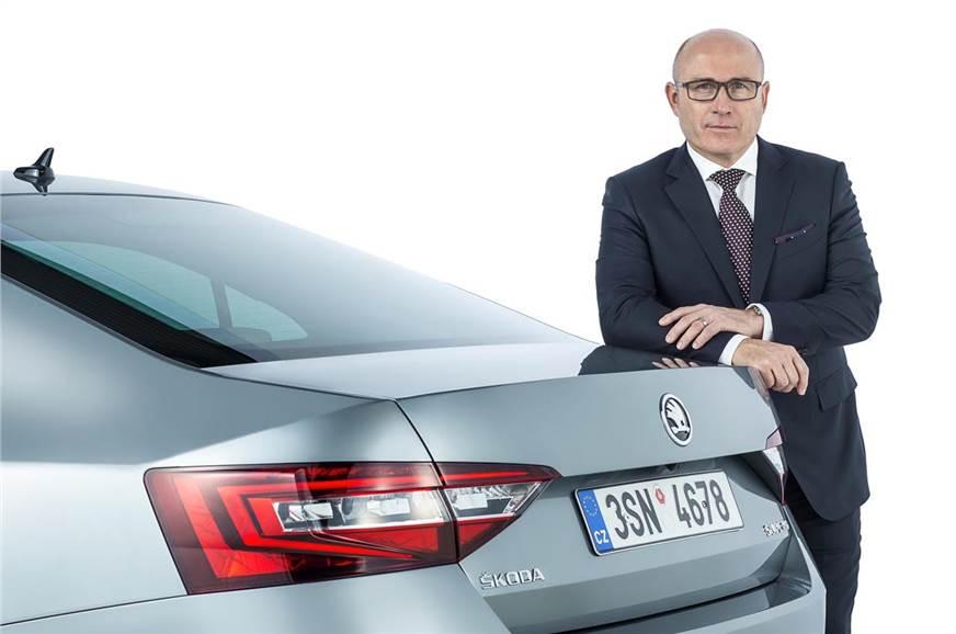 Bernhard Maier, CEO, Skoda says,