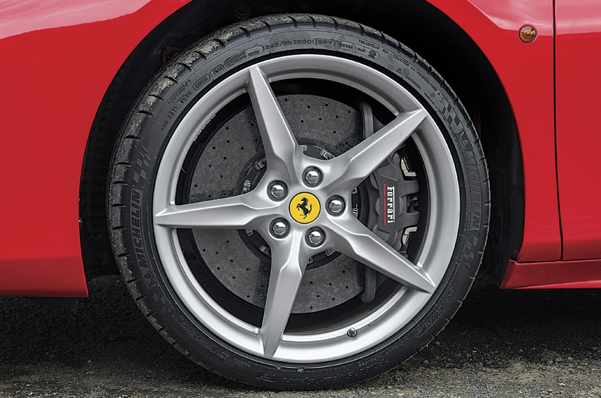 LaFerrari-derived carbon-ceramic brakes massive and are s...