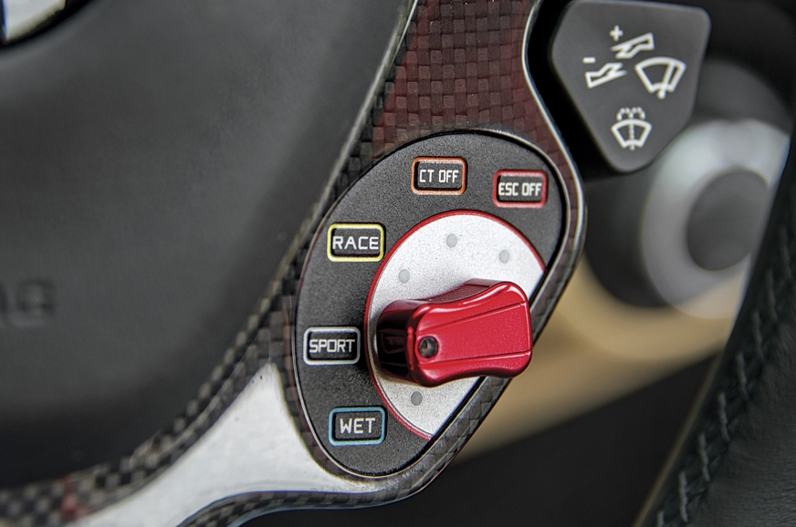 Ferrari's SSC2 system improves acceleration out of corner...