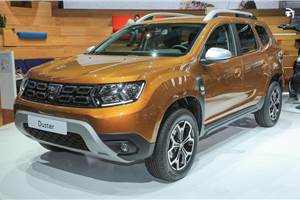 2018 Renault Duster sees public debut at Frankfurt