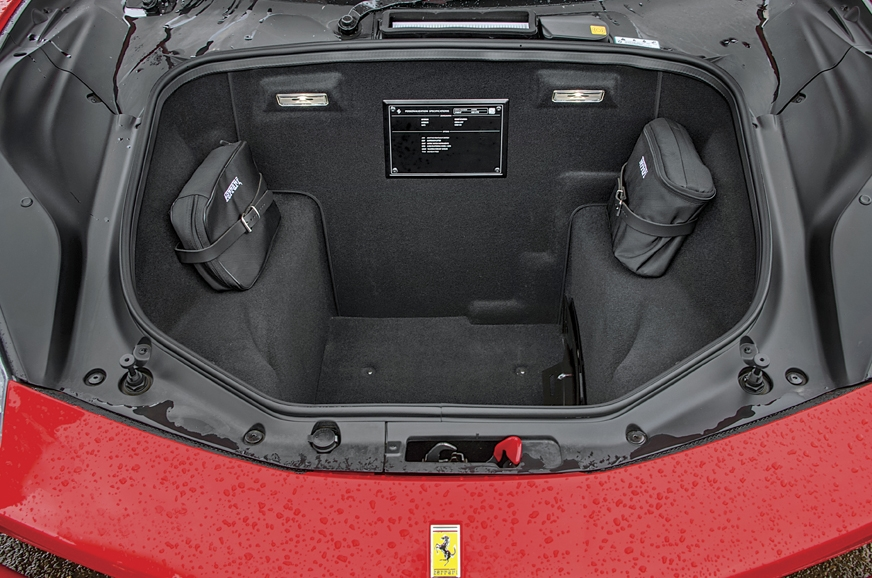 Boot not particularly spacious, but has enough room for t...