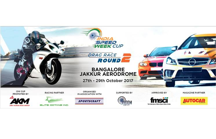 2017 India Speed Week Round 2 kicks off on October 27