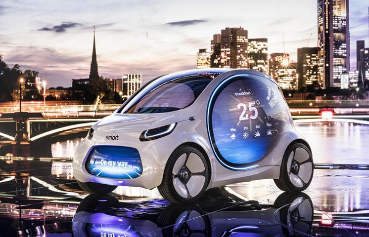 Smart debuts Vision EQ at Frankfurt