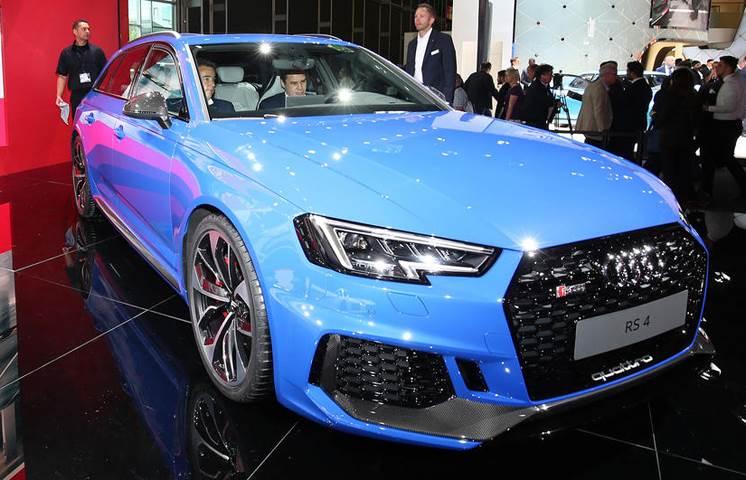 New Audi RS4 Avant unveiled at Frankfurt
