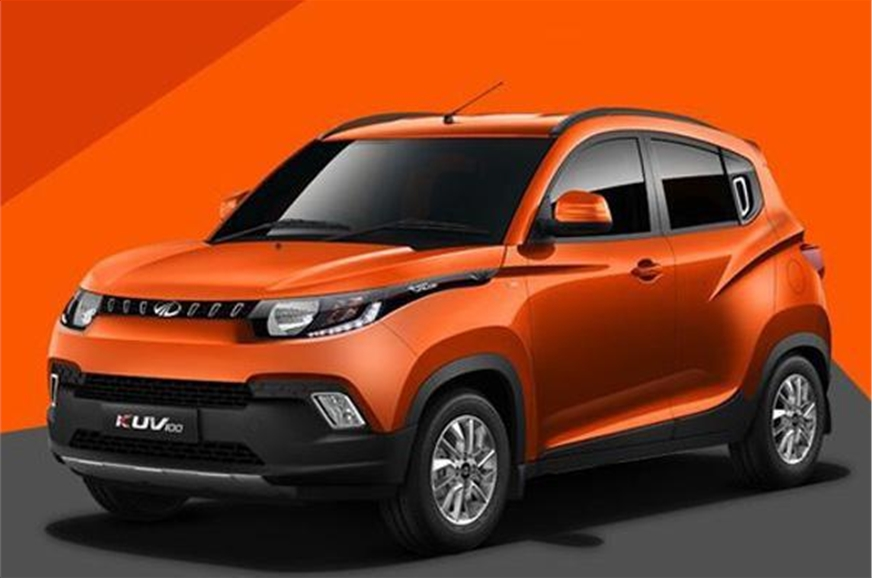 The KUV100 facelift will see sheet metal changes and more...