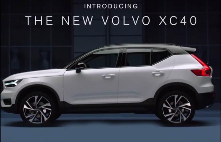 2018 Volvo XC40 video leaked