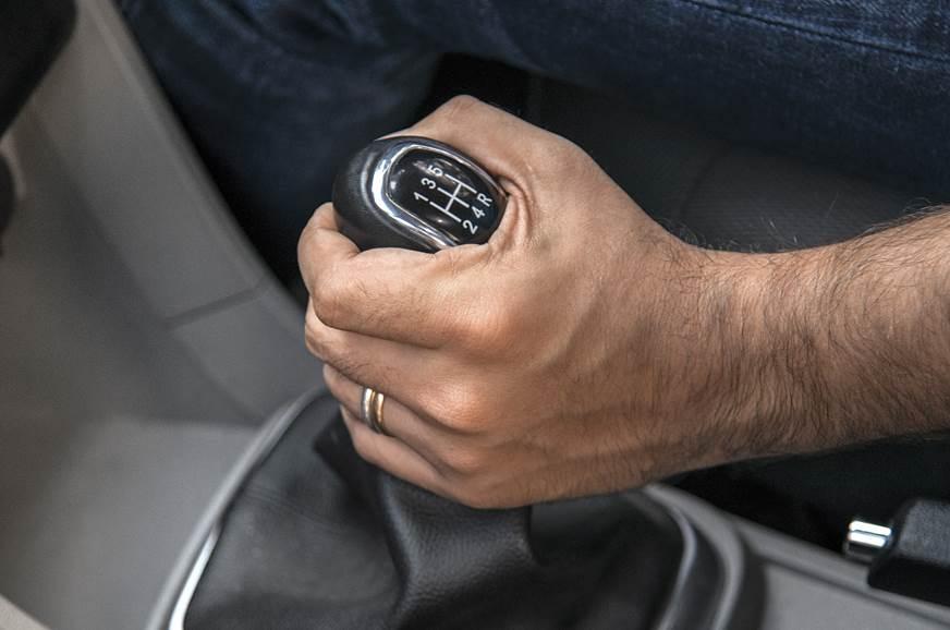 Vibrating lever: Gear knob vibrates when car is stationar...