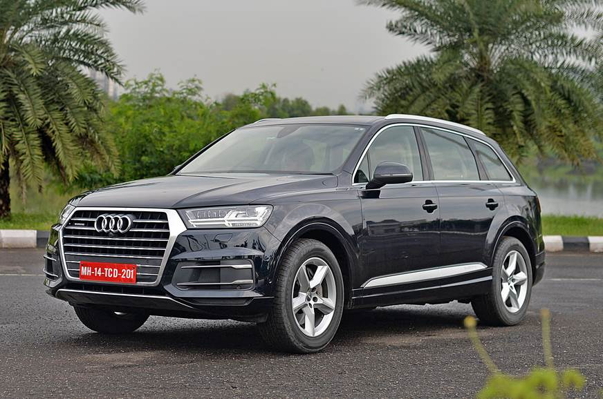 2017 Audi Q7 40 Tfsi Review Test Drive Autocar India