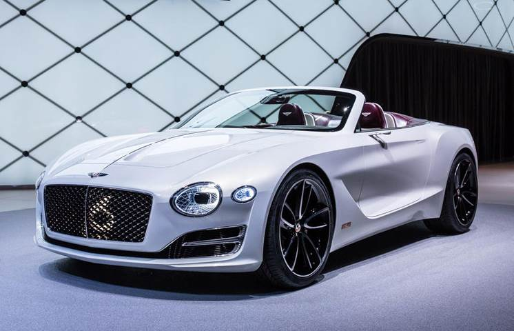 Bentley electric sports car coming in 2019