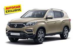 Mahindra confirms new Ssangyong Rexton launch in 2018