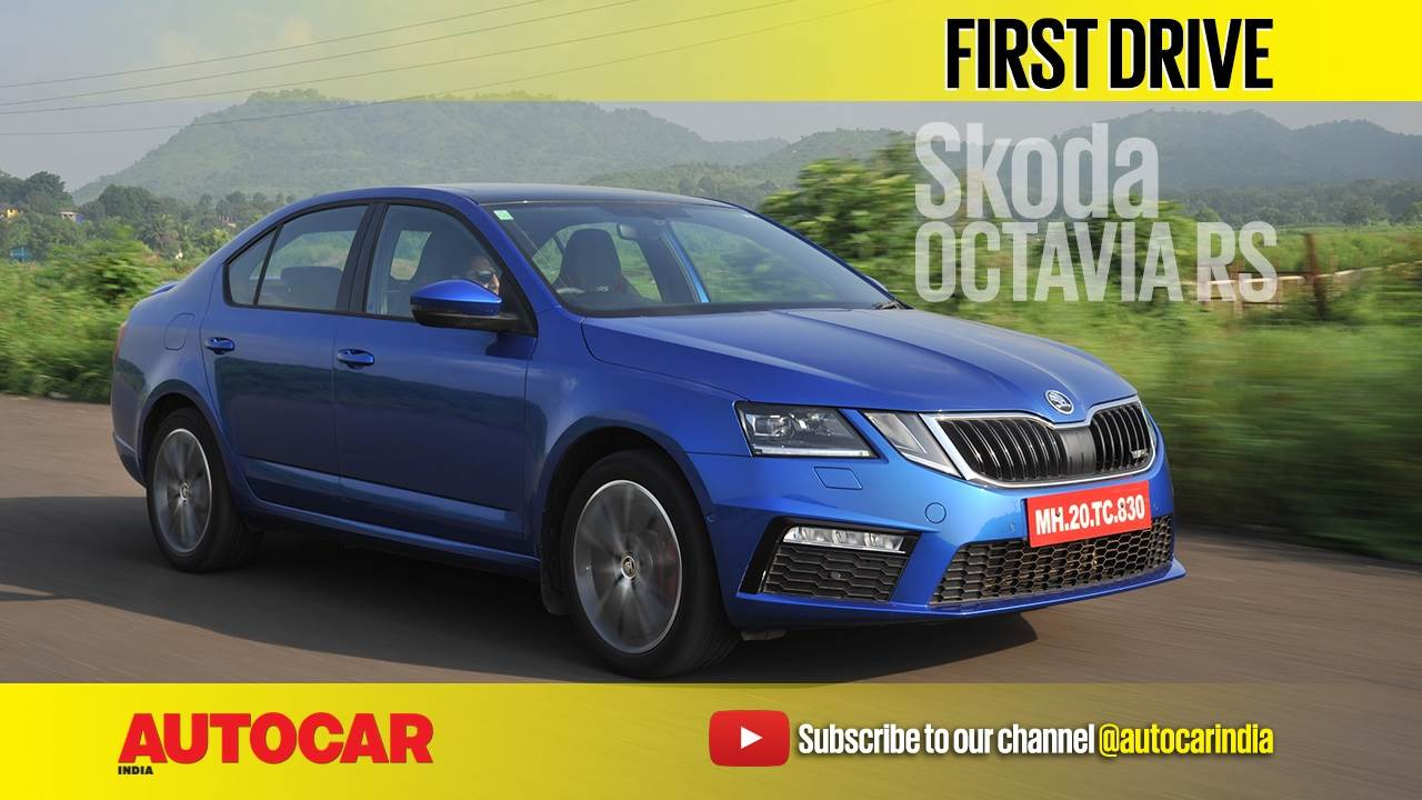 2017 Skoda Octavia RS video review
