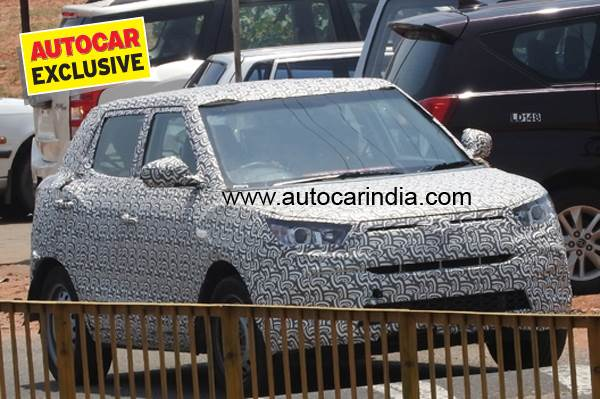 Mahindra promises best-in-class performance for Tivoli-based compact SUV