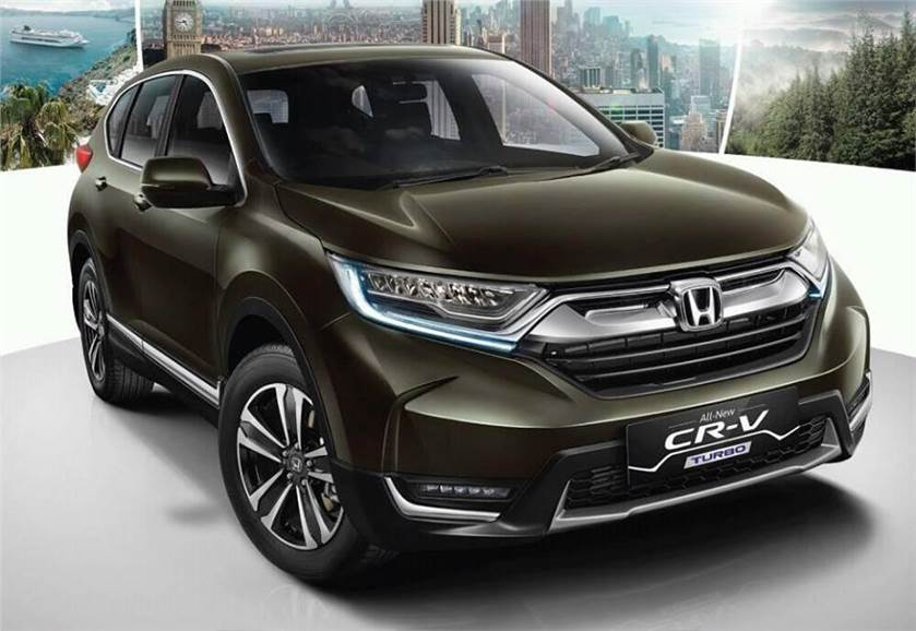 India bound 2018 honda cr v diesel expected price for Honda crv price