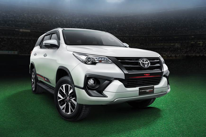 The 2017 Fortuner TRD Sportio is priced at Rs 31.01 lakh.