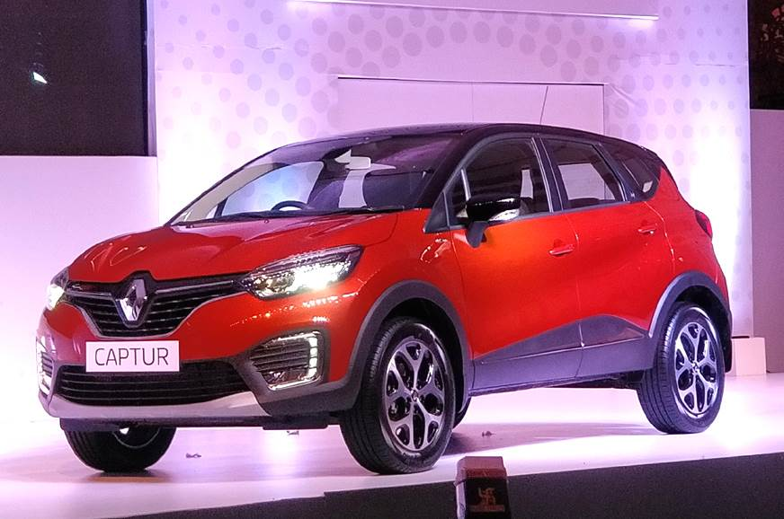 Renault Captur India launch on November 6, 2017