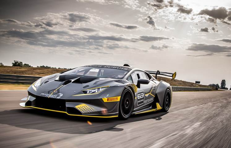 Lamborghini Huracan Super Trofeo EVO unveiled