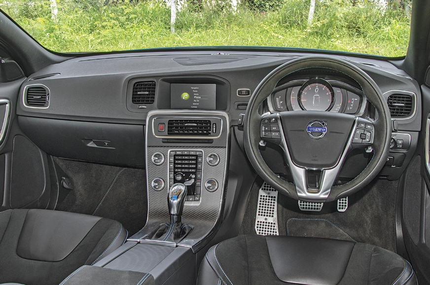 Volvo S60 Polestar interior feels dated now but the desig...