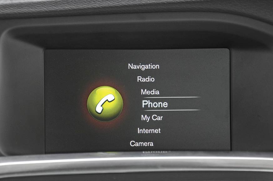Infotainment on the Volvo S60 Polestar feels decidedly ol...