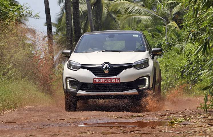 2017 Renault Captur India review, test drive