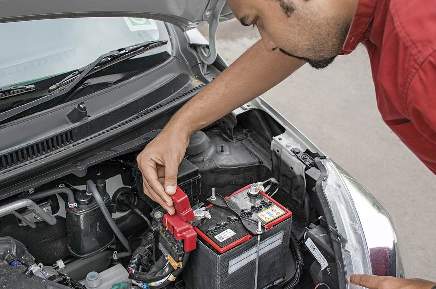 The battery electrodes should be free of corrosion. Ask t...
