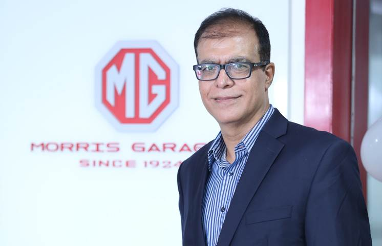 In conversation with Rajeev Chaba, President and MD, MG Motor India