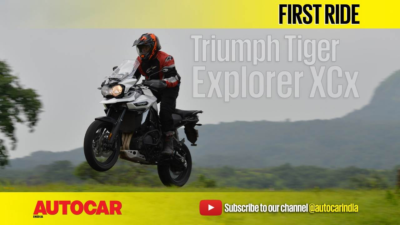 2017 Triumph Tiger Explorer XCx video review