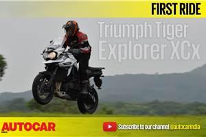 2017 Triumph Tiger Explorer XCx video review