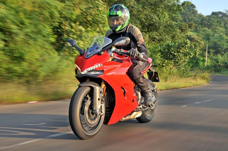 The riding position is sporty but stops short of being to...