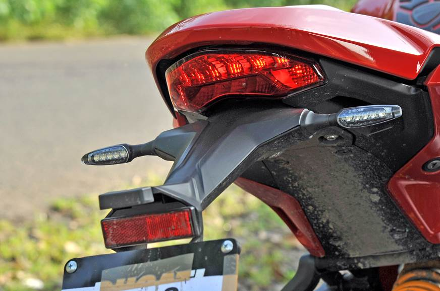 The sleek LED indicators are not standard and come as par...