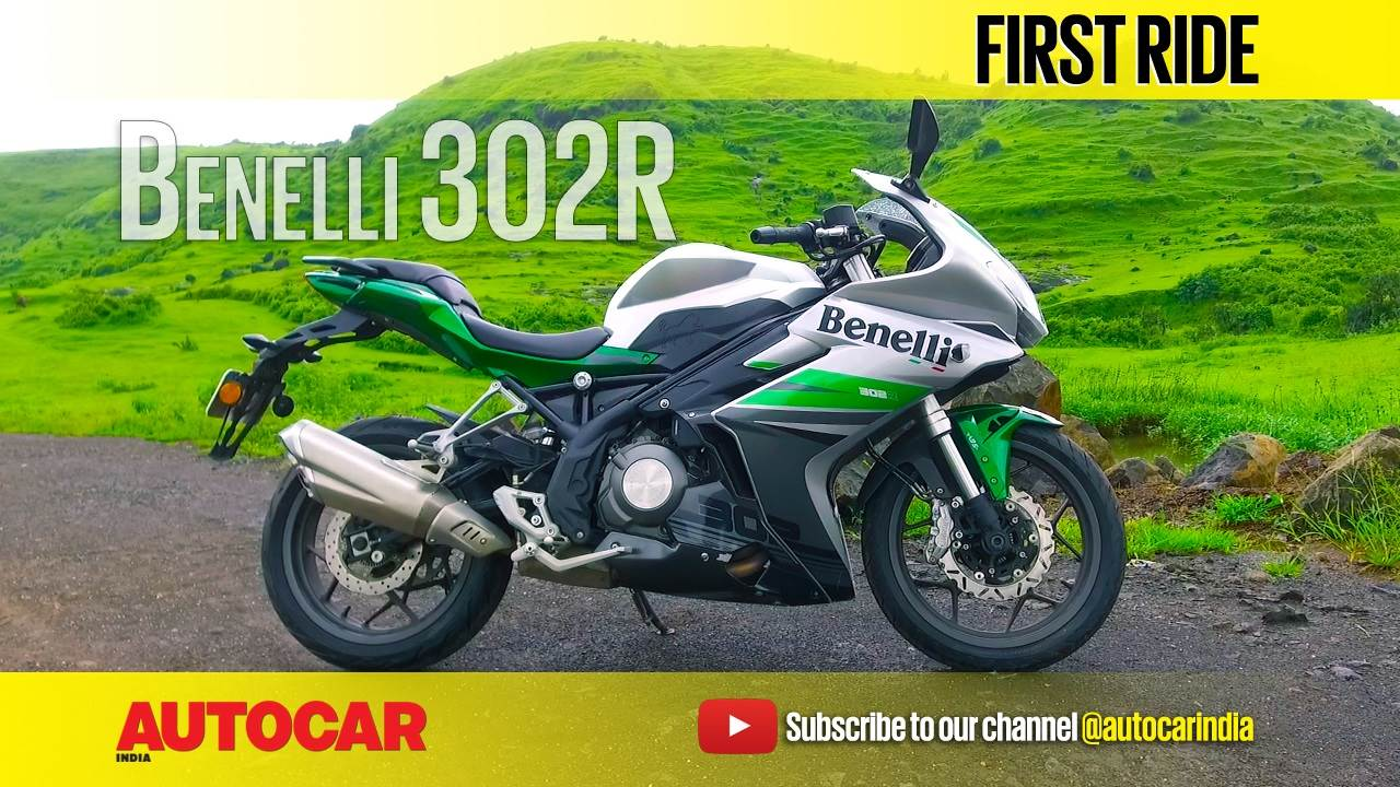 2017 Benelli 302R video review