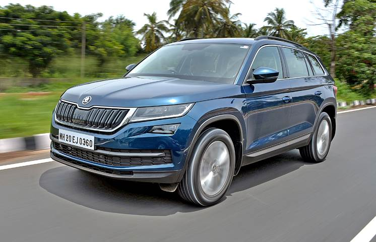 2017 Skoda Kodiaq India review, test drive