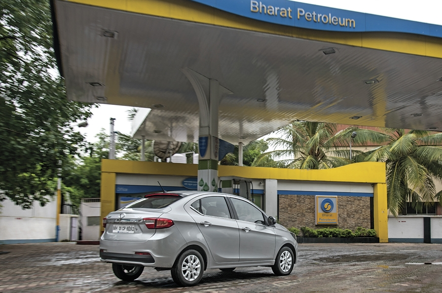 Use the same petrol pump for consistency.