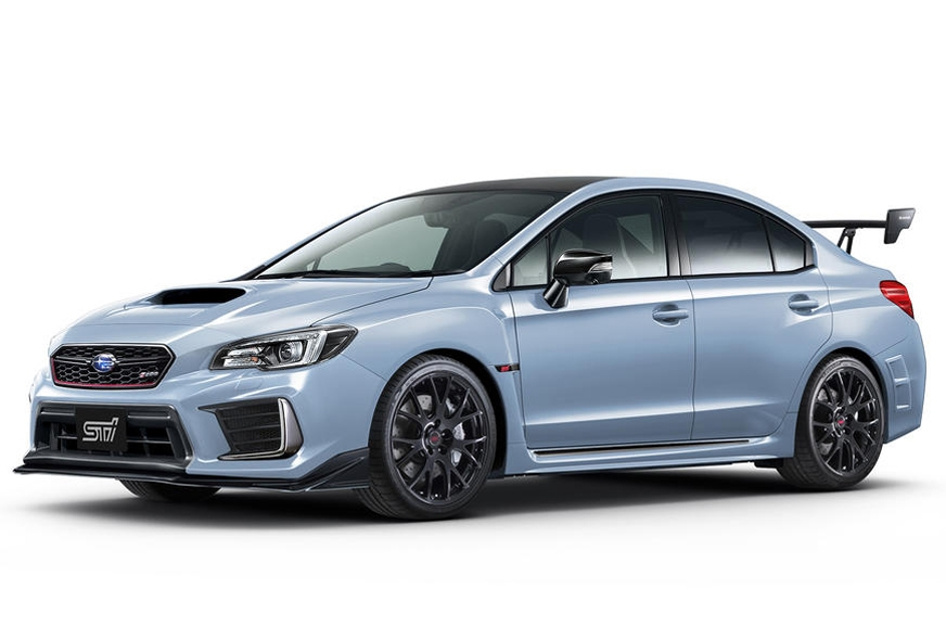 The limited edition WRX STI S208.