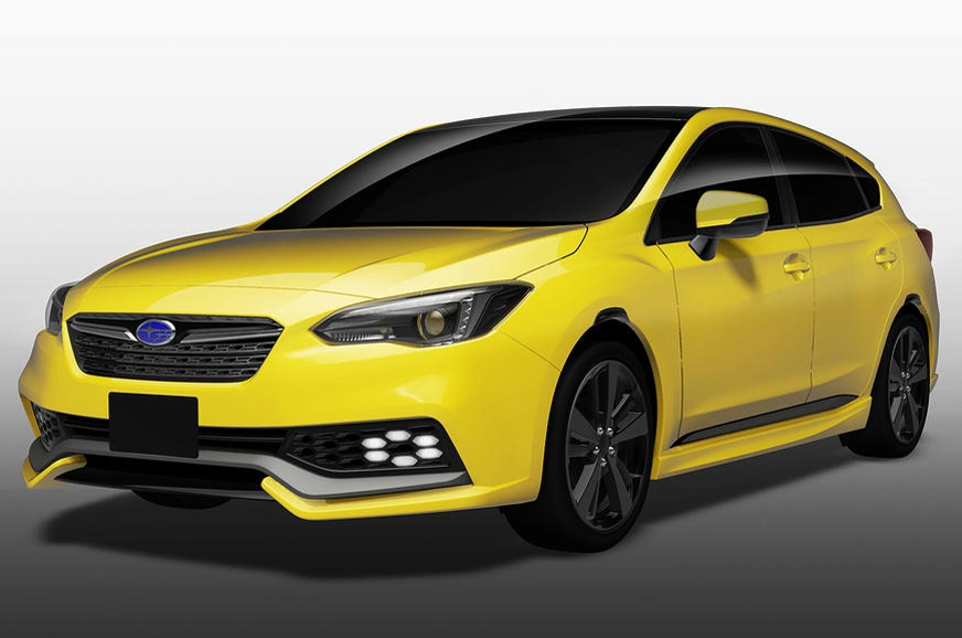 Impreza Future Sport hatchback concept.