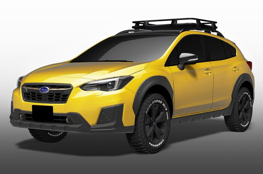 The XV Fun Adventure off-roader concept.
