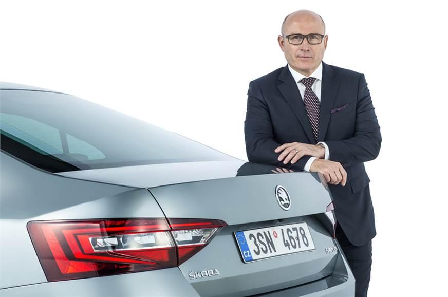 Bernhard Maier, Chief Executive Officer, Skoda Auto.