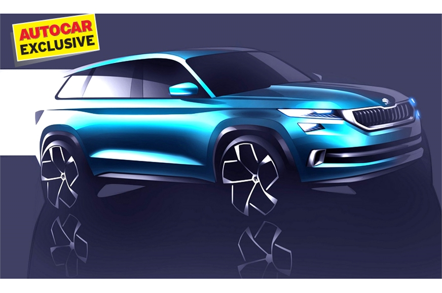 New Skoda SUV for India is likely to take on the Creta.