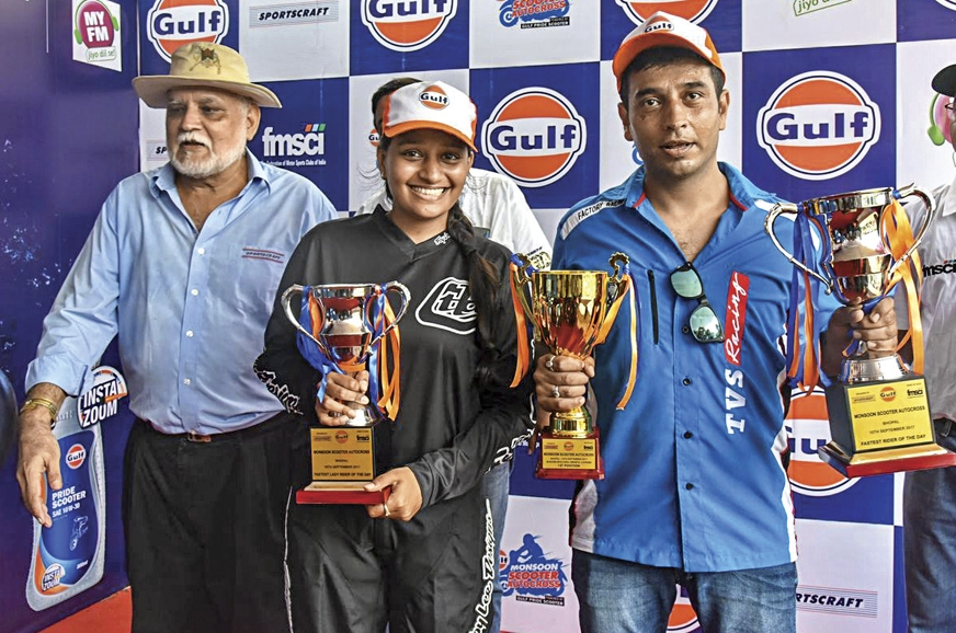 Syed Asif Ali and Nidhi Shukla took top honours.