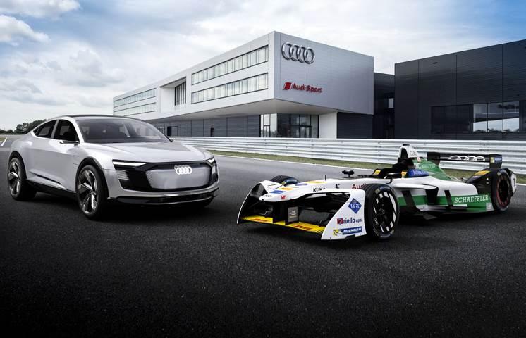 Audi E-Tron FE04 Formula E race car unveiled