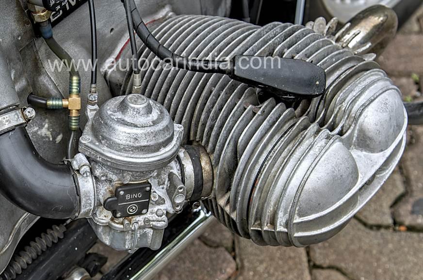 Bing carburettors upsized for performance.