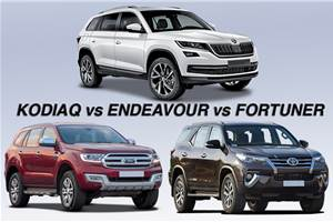 2017 Skoda Kodiaq vs rivals: Specifications comparison