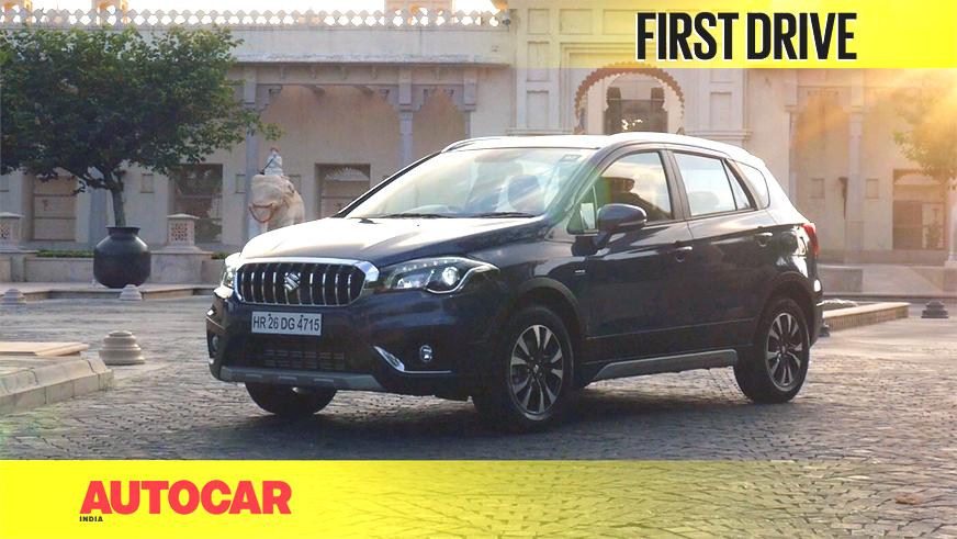 2017 Maruti S-Cross facelift video review