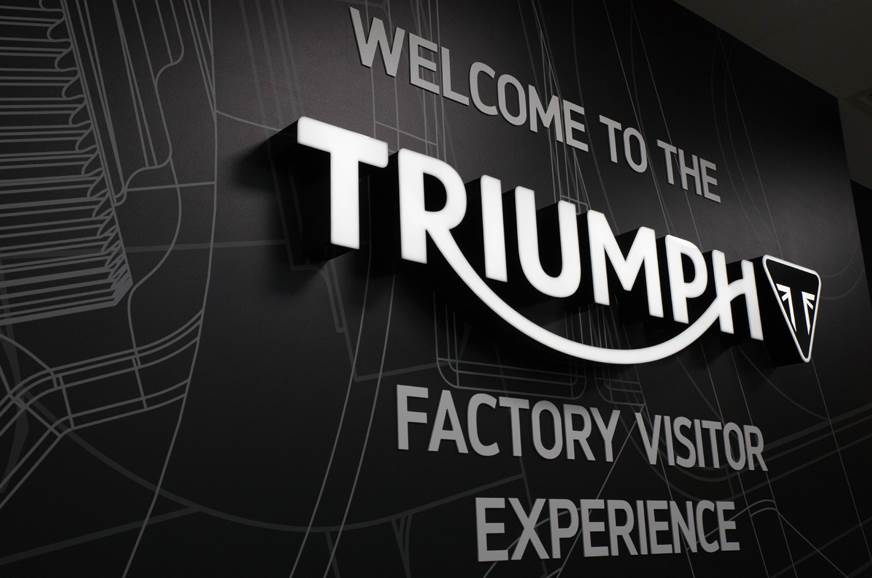 Triumph opens new factory visitor centre