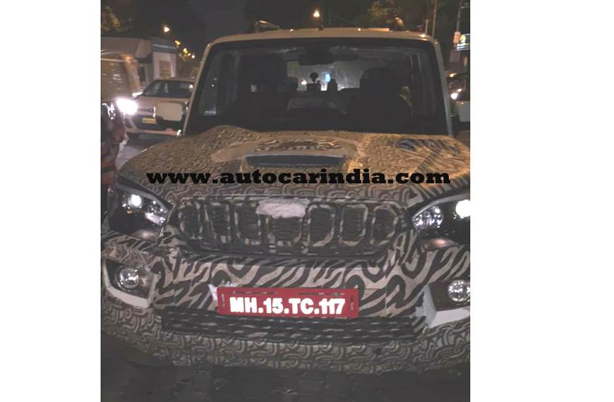 Mahindra Scorpio facelift launch on November 14, 2017