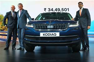 2017 Skoda Kodiaq launched at Rs 34.49 lakh